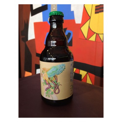 Bouteille de bière Brasseurs Cueilleurs Fleur Amère