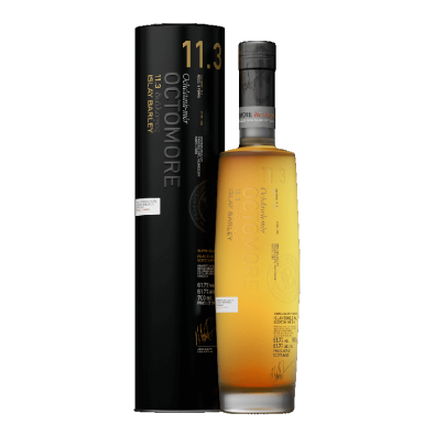 Bouteille de whisky Octomore 11.3