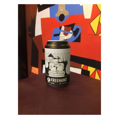 Canette de bière Frontaal Freehand