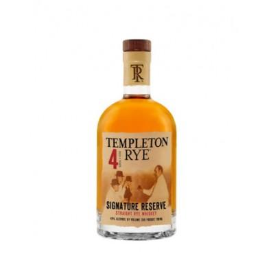 Bouteille de whiskey Templeton Rye 4 ans