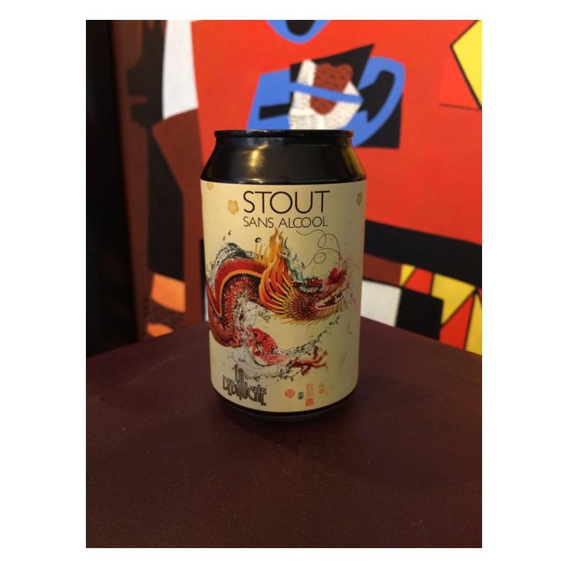 Bouteille de bière La Débauche Stout sans alcool