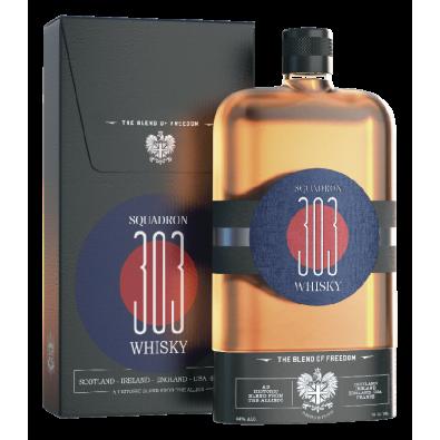 Bouteille de whisky Squadron 303