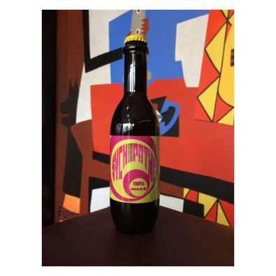 Bouteille de bière Seillonne Sychopathe Triple Armagnac