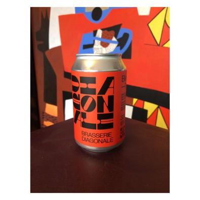 Bouteille de bière Diagonale Pale Ale