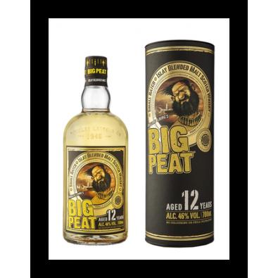 Bouteille de whisky Big Peat 12 ans