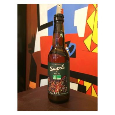 Bouteille de bière Goupils IPL