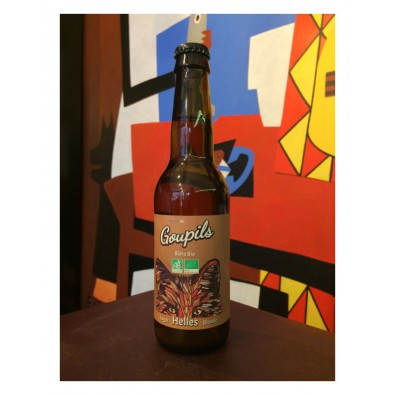 Bouteille de bière Goupils Helles