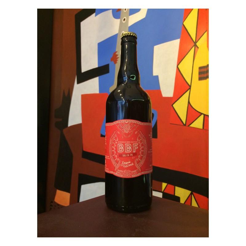 Bouteille de bière BBF English IPA