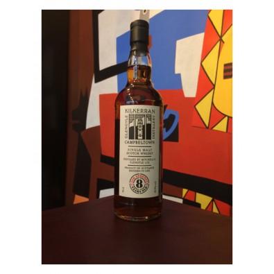 Bouteille de whisky Kilkerran 8 ans brut de fût
