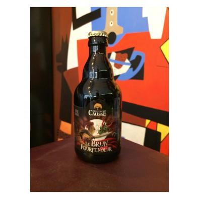 Bouteille de bière Brasserie du Causse Le Brun Pourfendeur