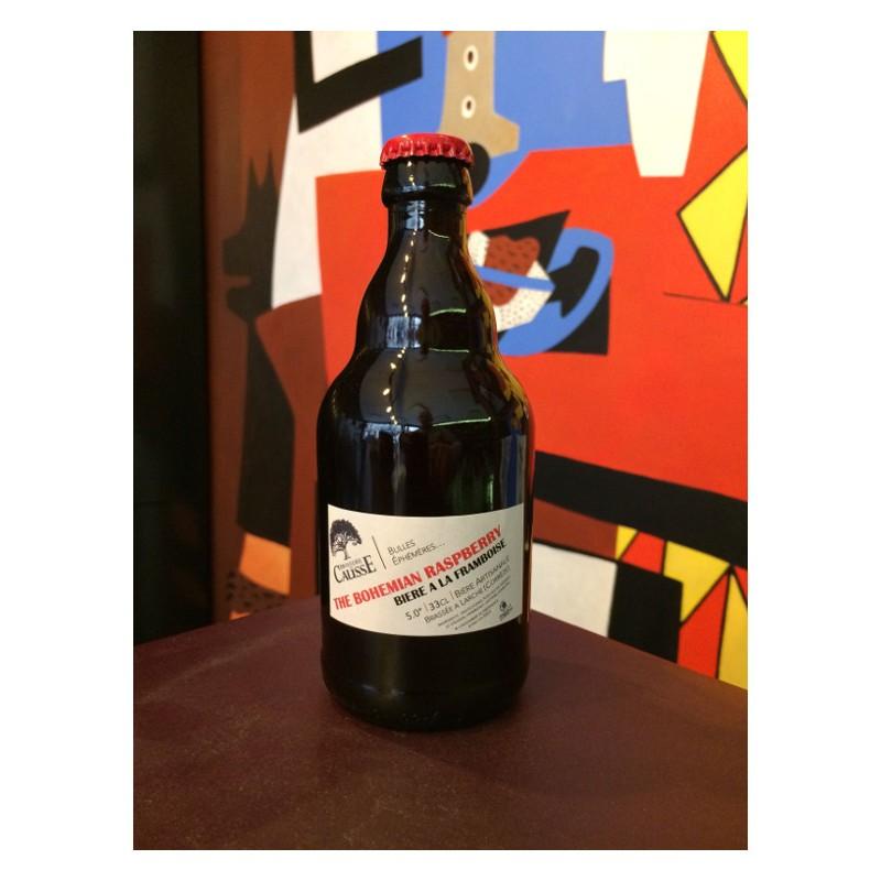 Bouteille de bière Brasserie du Causse The Bohemian Raspberry