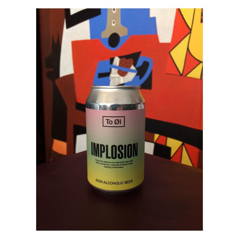 Canette de bière To Ol Implosion