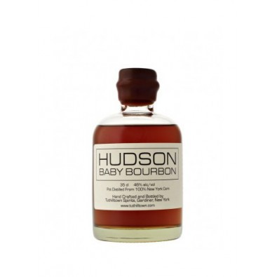 Bouteille de whiskey Hudson Baby Bourbon