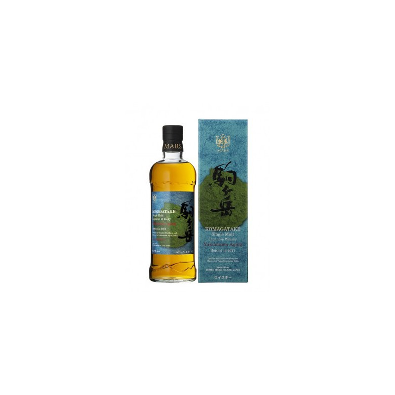 Bouteille de whisky Mars Komogatake Yakushima Aging