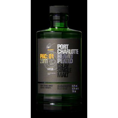 Bouteille de whisky Port Charlotte PAC:01 2011