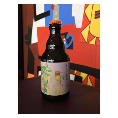 Bouteille de bière Brasseurs Cueilleurs Aigre Fruit Fraise Rhubarbe