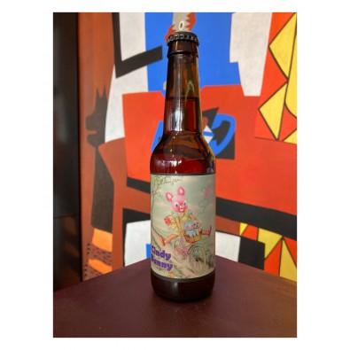 Bouteille de bière La Débauche Cindy Bunny