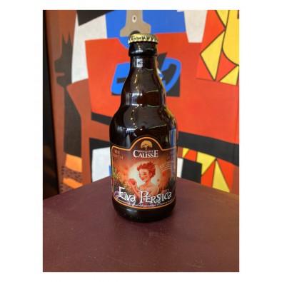 Bouteille de bière Brasserie du Causse Eva Persica