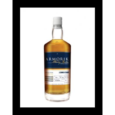 Bouteille de whisky Armorik Esprit d'Équipe