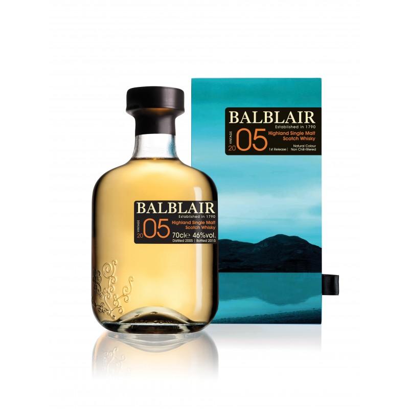 Bouteille de whisky Balblair 05