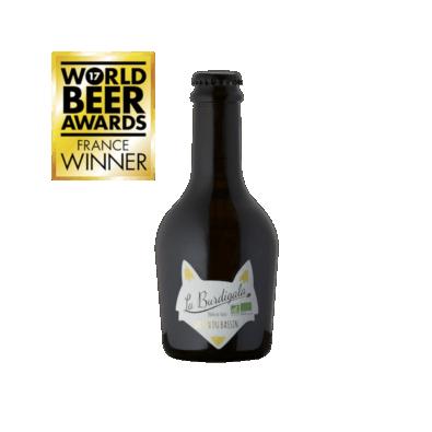 Bouteille de bière Burdigala Saison