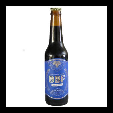 Bouteille de bière BBF Macis Stout