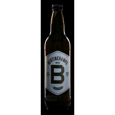 Bouteille de bière Bertinchamps Triple