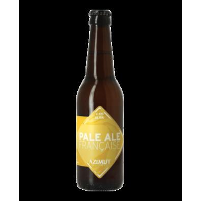 Bouteille de bière Azimut Pale Ale Française