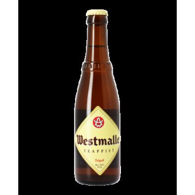 Bouteille de bière Westmalle Triple