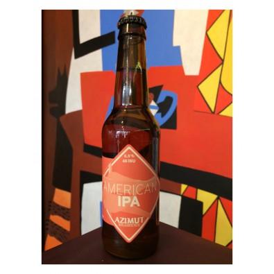Bouteille de bière Azimut American IPA