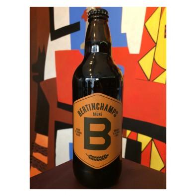 Bouteille de bière Bertinchamps Brune