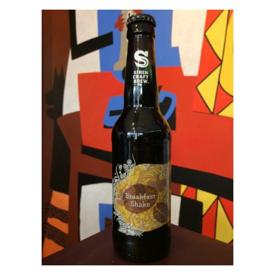 Bouteille de bière Breakfast Shake - Siren Craft Brew