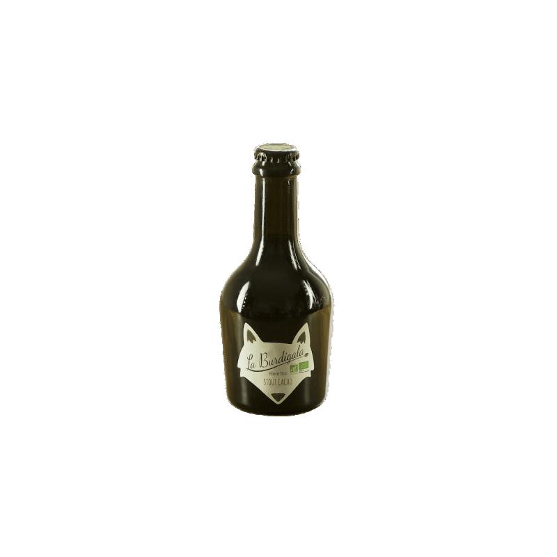 Bouteille de bière Burdigala Stout Cacao