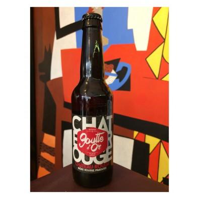 Bouteille de bière Château Rouge - Goutte d'Or