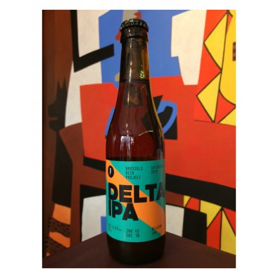 Bouteille de bière Delta IPA - Brussels Beer Project