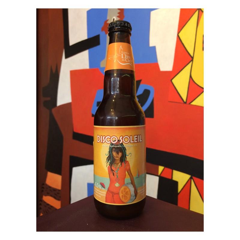 Bouteille de bière Disco Soleil - Dieu du Ciel