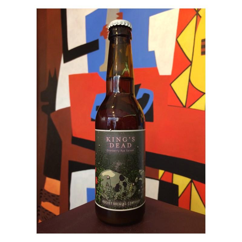 Bouteille de bière King's Dead - Brasserie Rocket