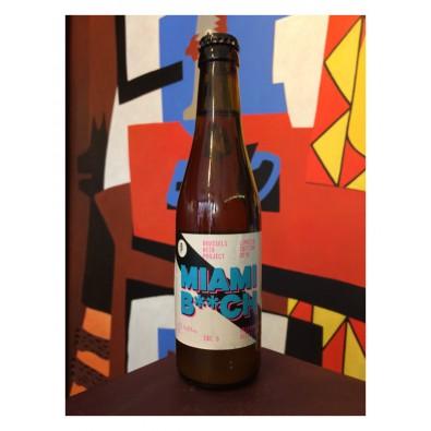 Bouteille de bière Miami B**ch - Brussels Beer Project