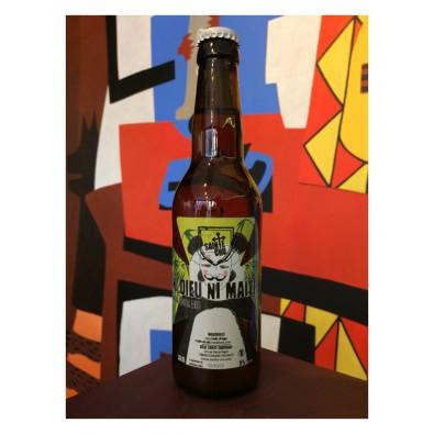 Bouteille de bière Ni Dieu Ni Maître - Brasserie Sainte Cru