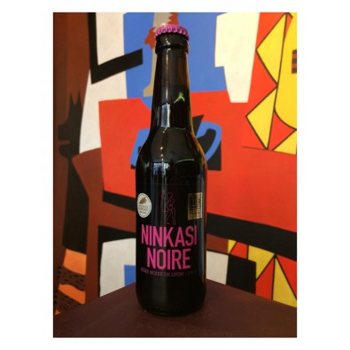 Bouteille de bière Ninkasi Noire
