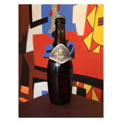 Bouteille de bière Orval