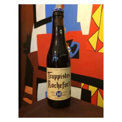 Bouteille de bière Trappistes Rochefort 10
