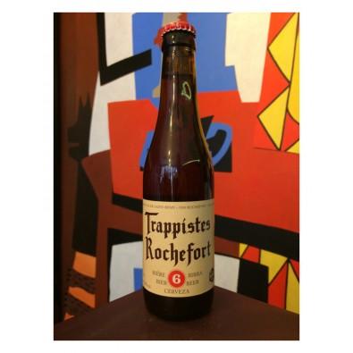 Bouteille de bière Trappistes Rochefort 6