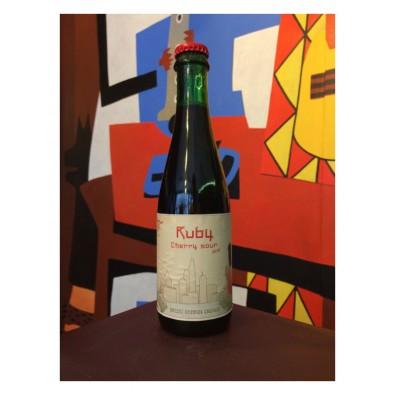 Bouteille de bière Ruby - Brasserie Rocket