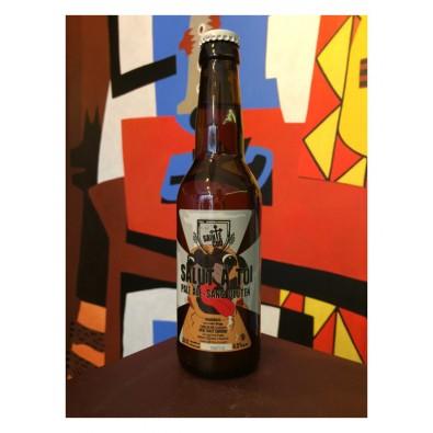 Bouteille de bière Salut à Toi - Brasserie Sainte Cru