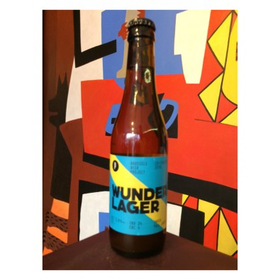 Bouteille de bière Wunder Lager - Brussels Beer Project