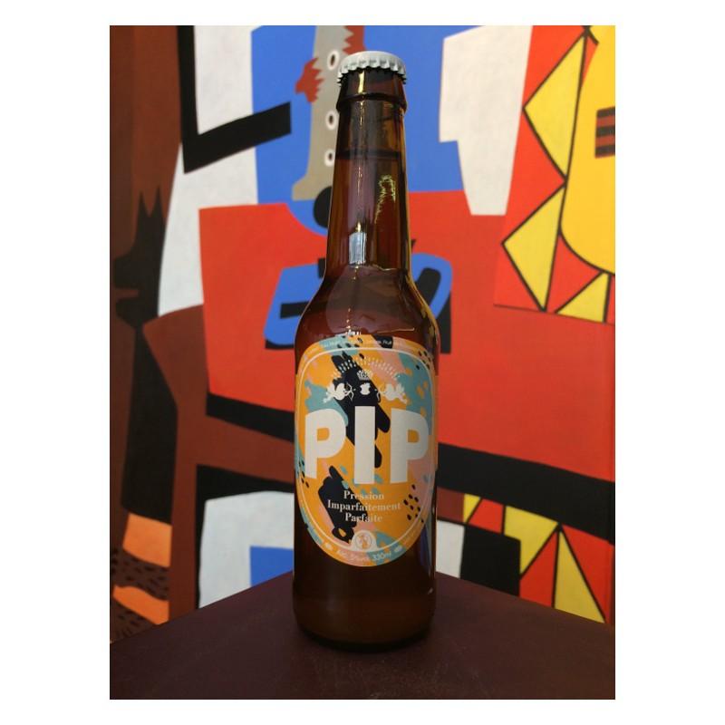 Bouteille de bière - Brasserie Pip - Blanche Passion Timut