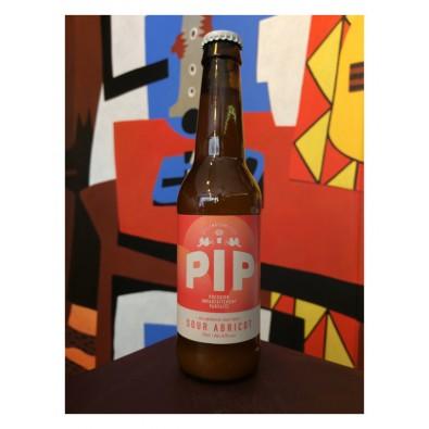 Bouteille de bière - Brasserie Pip - Sour Abricot
