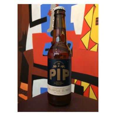 Bouteille de bière - Brasserie Pip - IPA Copeaux de Bois