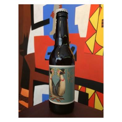 Bouteille de bière Little Dicky Tie - Collab Effet Papillon / La P'tite Maiz
